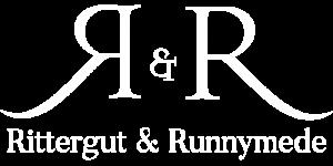Rittergut & Runnymede Logo - White